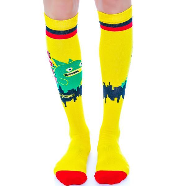 Tokzilla Socks