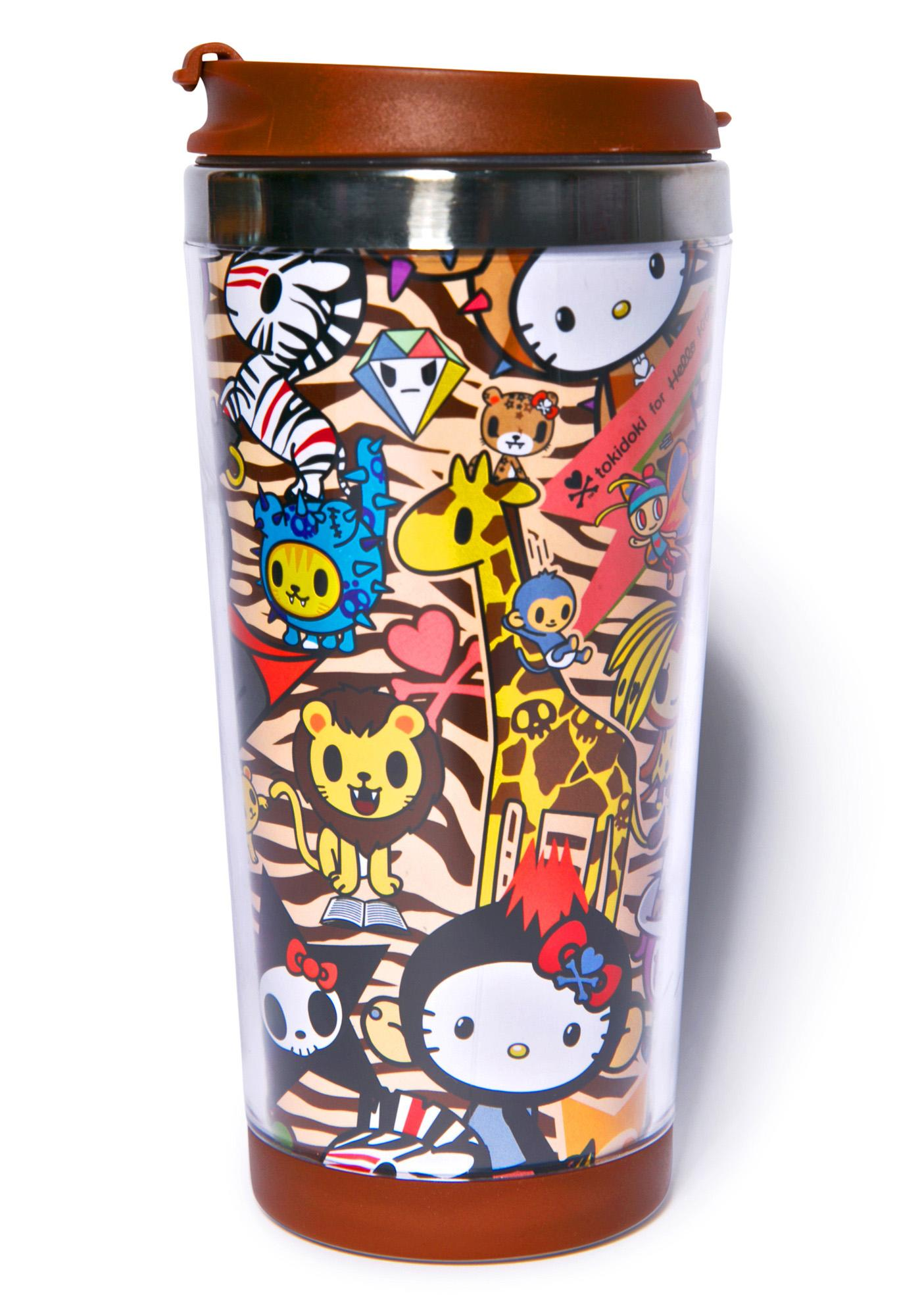 Sanrio Tokidoki X Hello Kitty Summer Safari Mug