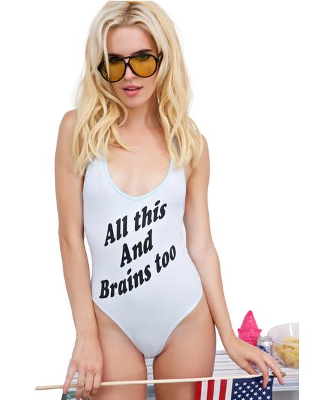 Brains Too Bodysuit