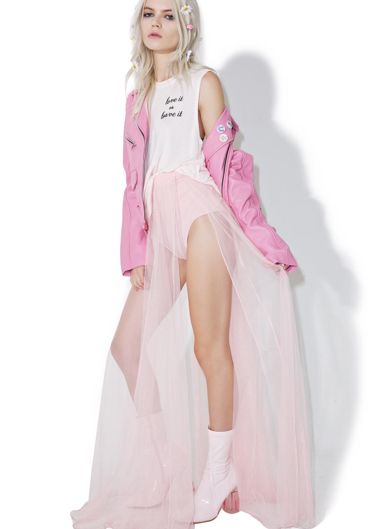 Angelic Grace Maxi Skirt
