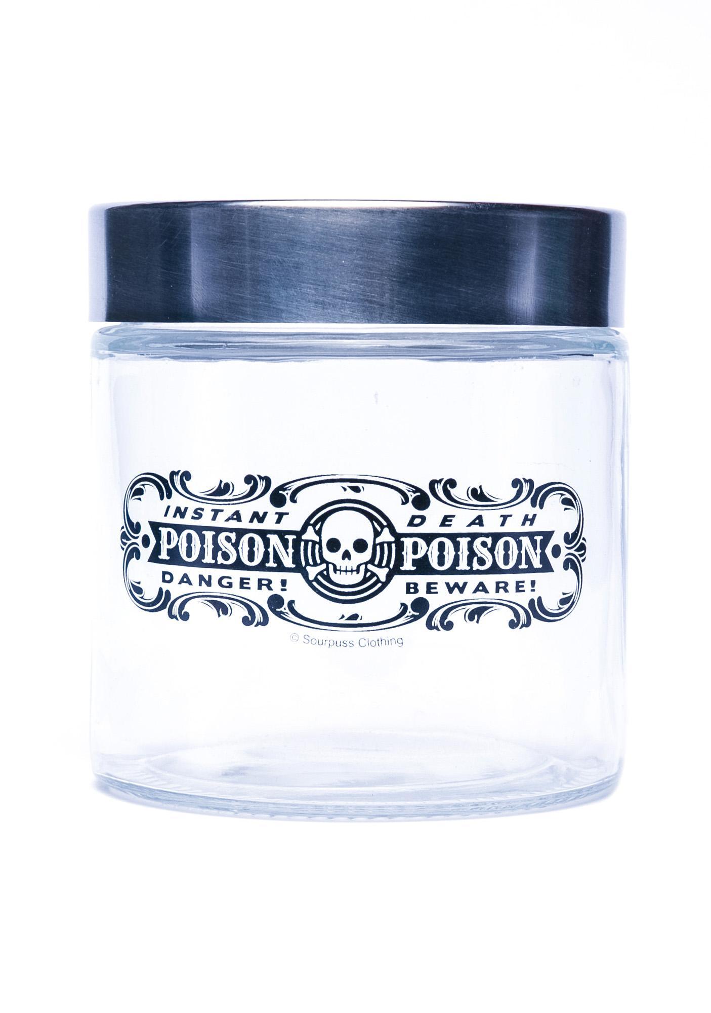 Sourpuss Clothing Poison Apothecary Jar
