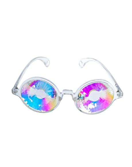 Kaleidoscope Wormhole Glasses