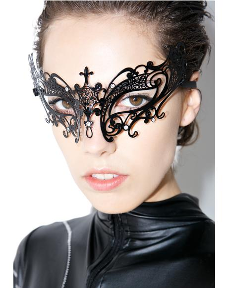 Duchess Of Night Masquerade Mask