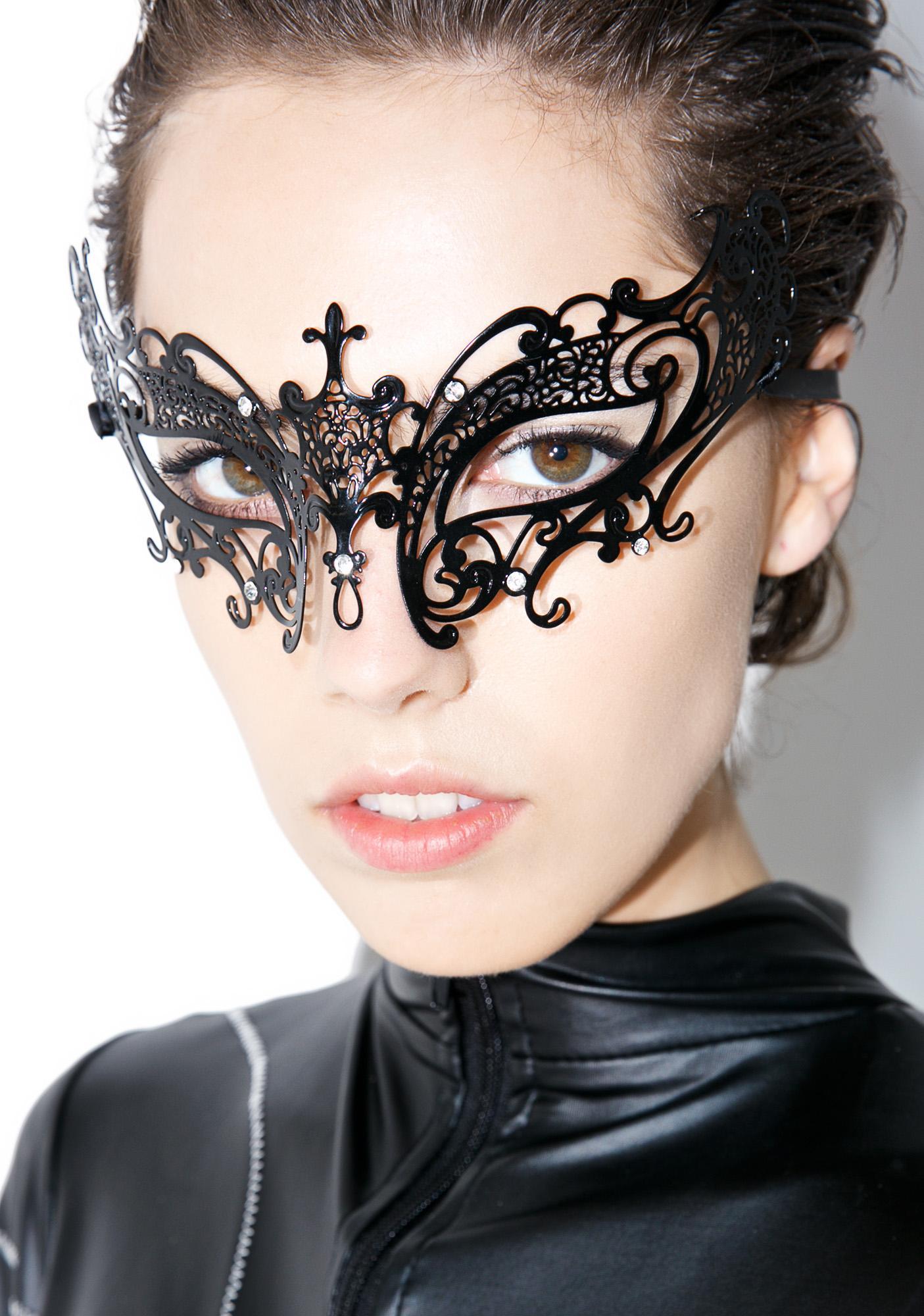 Duchess Of Night Masquerade Mask