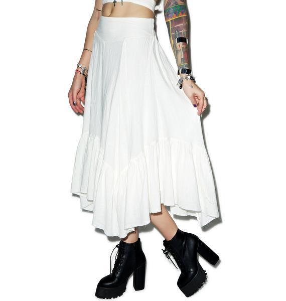 Somedays Lovin Concho River Linen Skirt