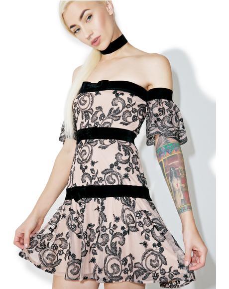 Clemence Off Shoulder Dress