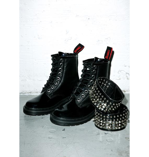 Demonia Phantom Ankle Boots