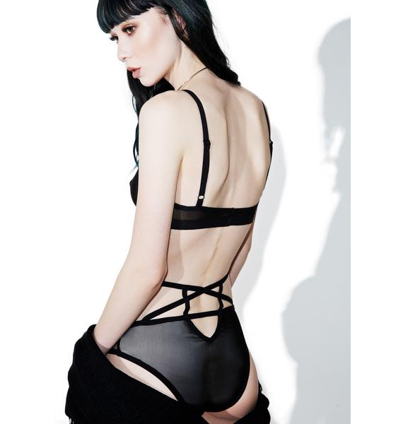 Killstar 2 Hot 4 U Mesh Bralette