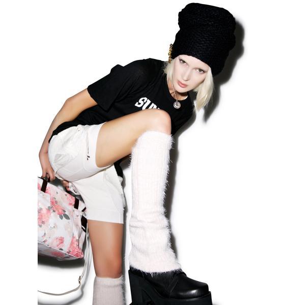 Wildfox Couture Loose Angora Leg Warmers