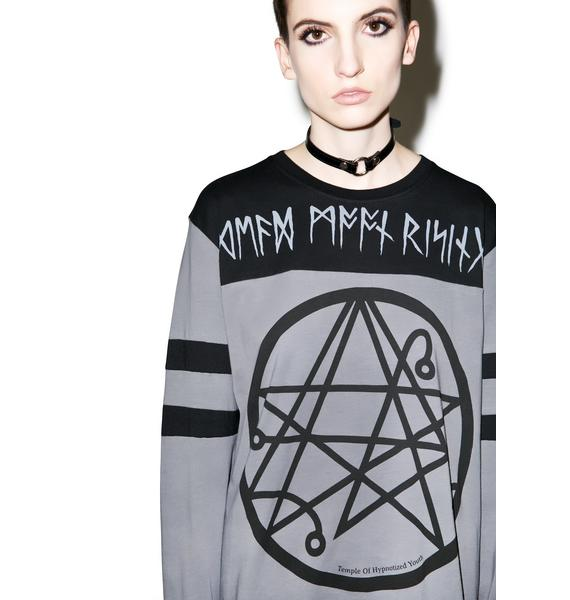 Disturbia Dead Moon Rising Long Sleeve Top