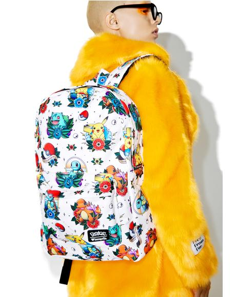 X Pokemon Tattoo Backpack