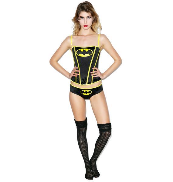 Undergirl Batman Corset Set