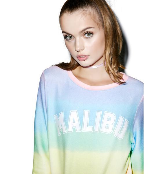 Wildfox Couture Malibu Sunscreen Baggy Beach Jumper
