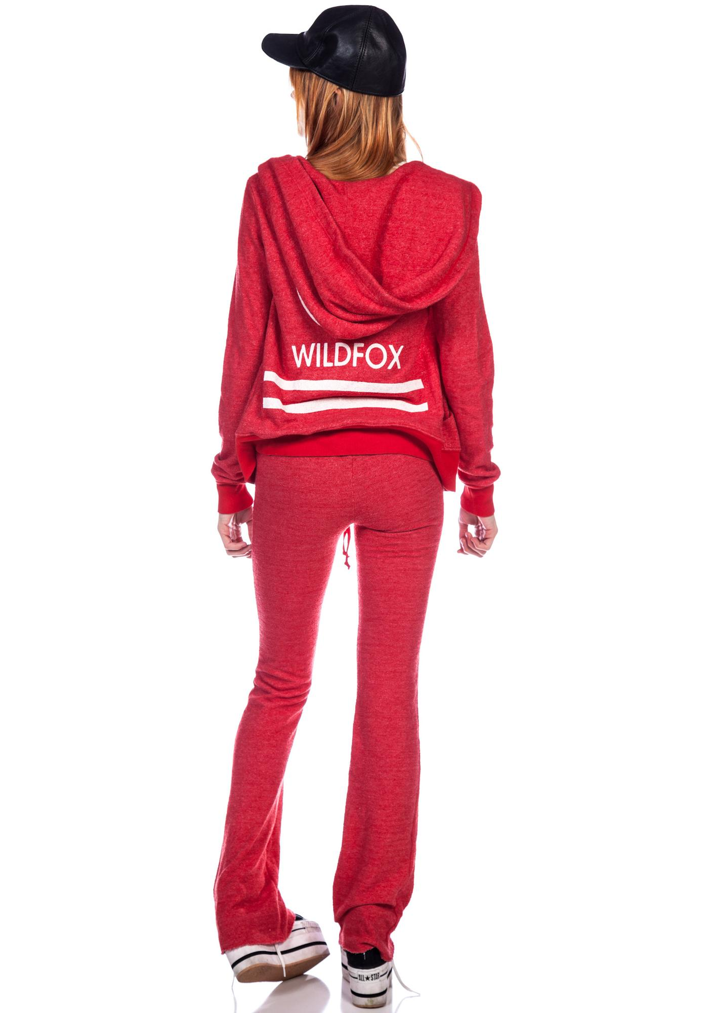 Wildfox Couture Wildfox Cruise Terry Track Suit Pants