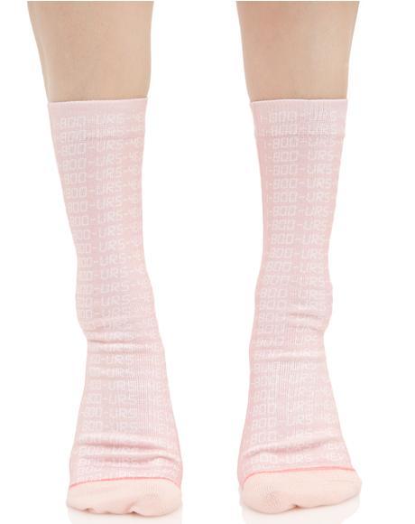 Bling Bling Crew Socks