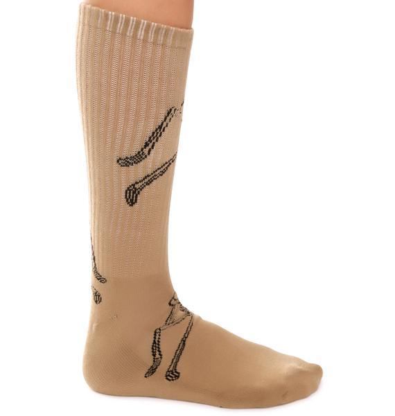 Rebel8 Permanent Vacation Socks