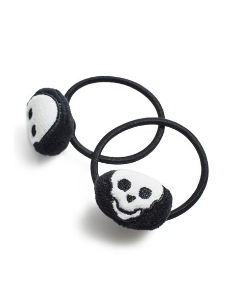 Spooky Skelly Hair Ties
