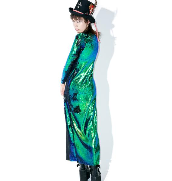 Isolated Heroes Mermaid Double Split Dress
