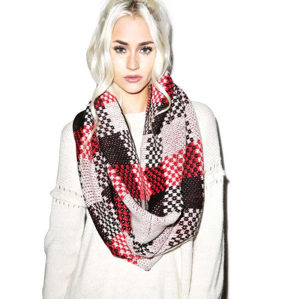 Wildfox Couture Checkers Snood