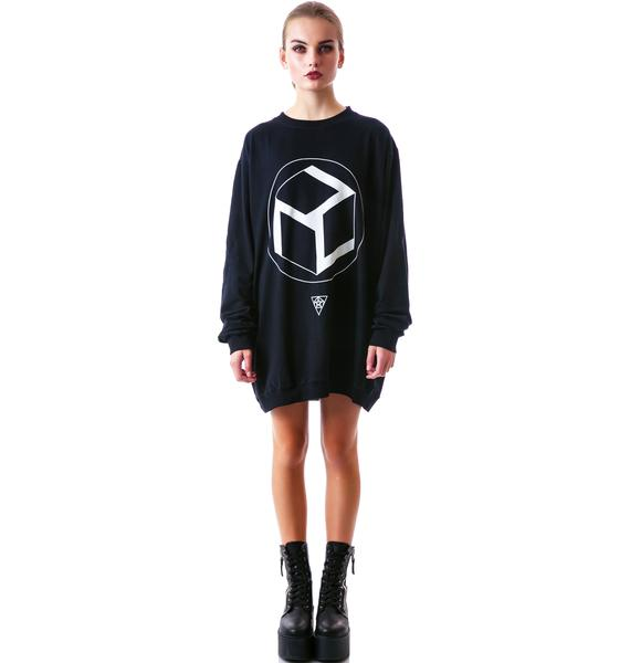 Long Clothing Charge Pullover Sweater