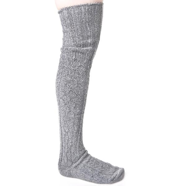 Ashe Thigh High Socks