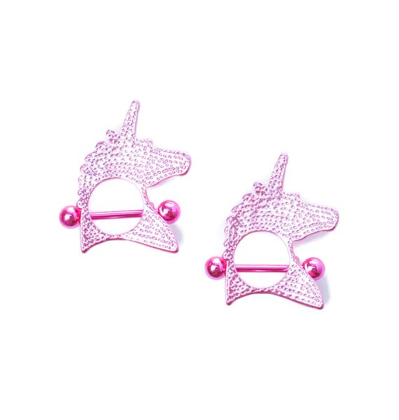 Unicorn Crush Nipple Ring Pack