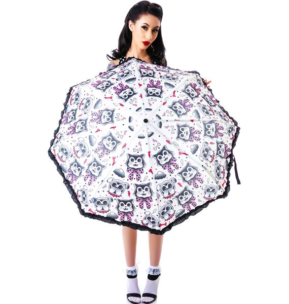 Sourpuss Clothing Cats & Dogs Umbrella