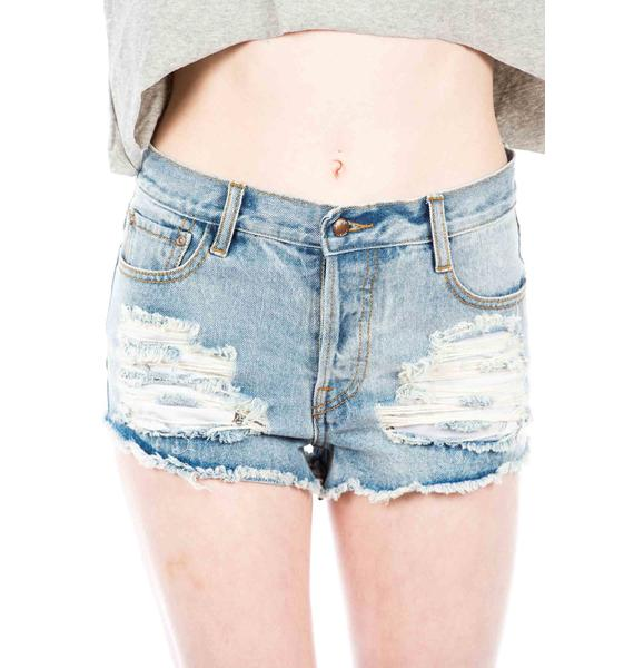 Somedays Lovin ' Cheap Trick Trashed Shorts