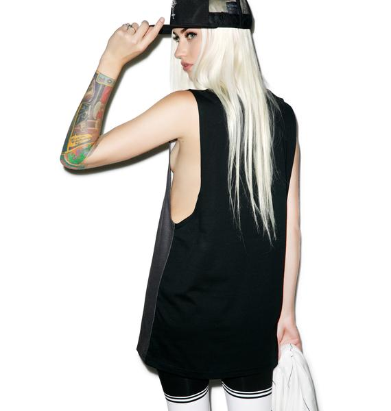 Black Scale Timeless Tank Top