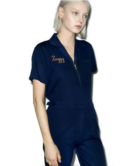 Stardust Embroidered Coveralls