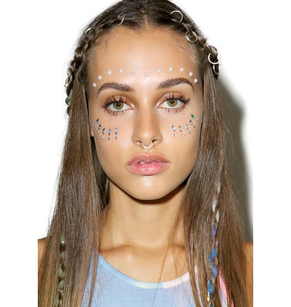 Luna Pearl Face Jewels