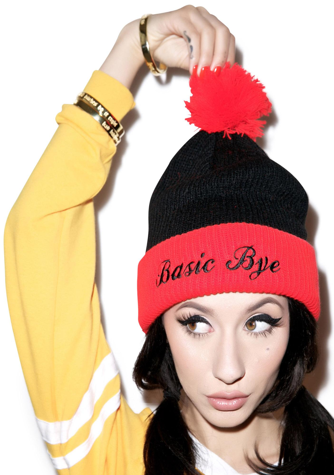 United Couture Basic Bye Lollipop Beanie