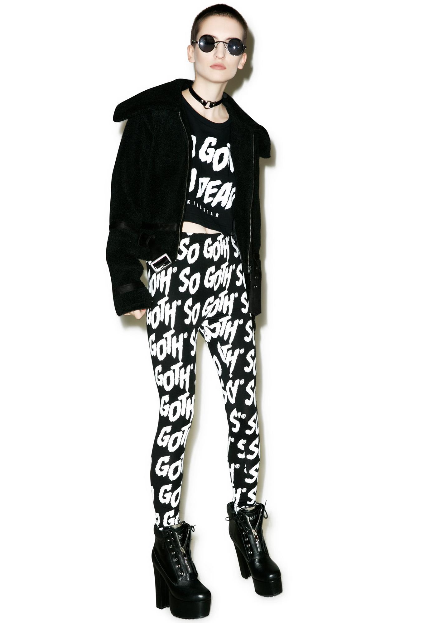 Killstar So Goth Leggings