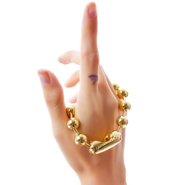 Cheap Monday Ballchain Bracelet