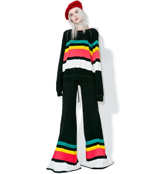 Wildfox Couture 70s Stripe Bottoms
