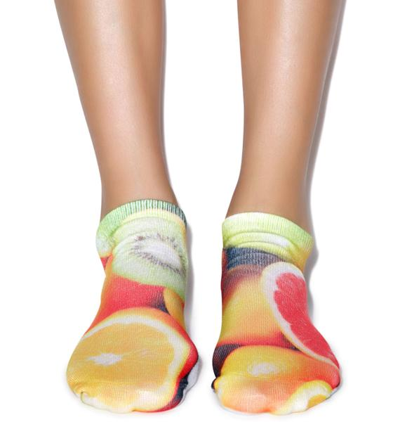 Juicy Fruit Ankle Socks