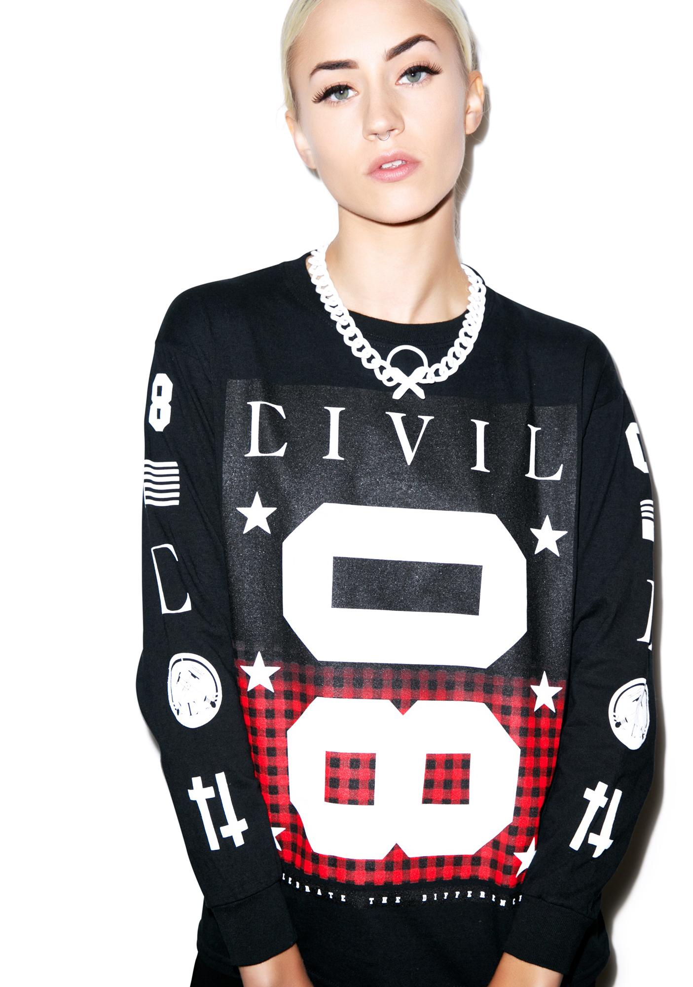 Civil Clothing Team 08 Kurt Long Sleeve