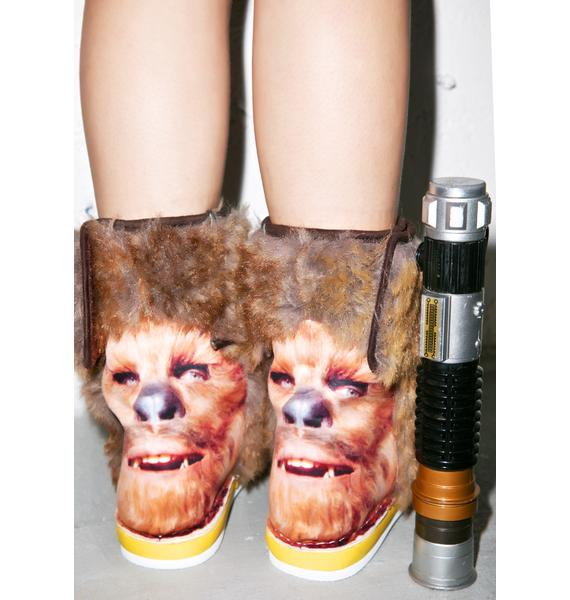 Irregular Choice Chewbacca Boots