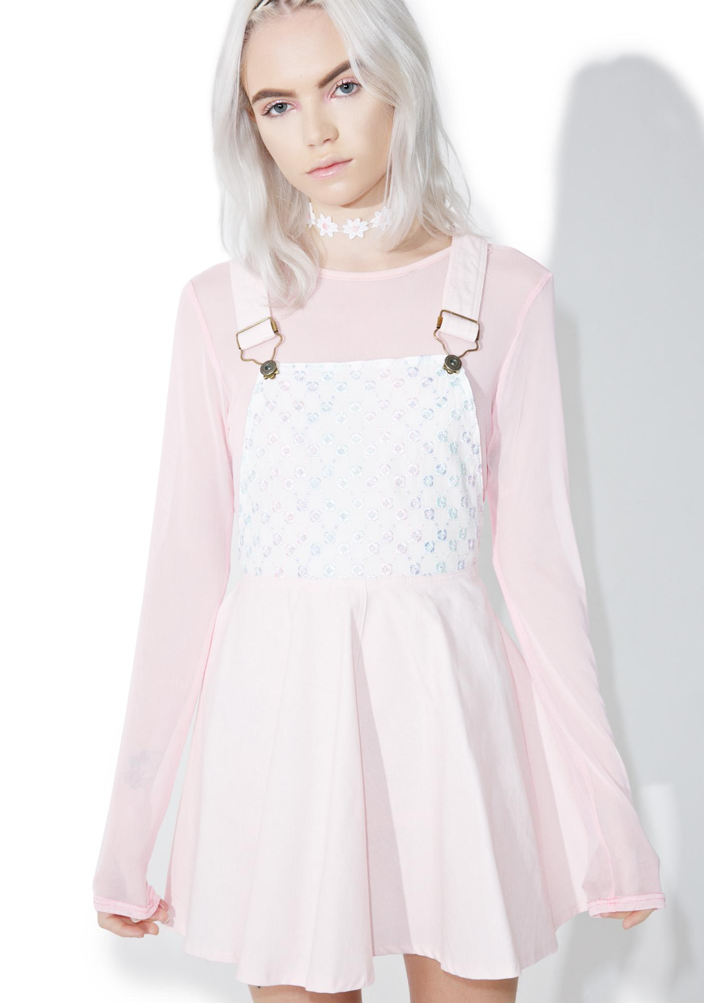 Kawaii Pastel Overall Dress Dolls Kill