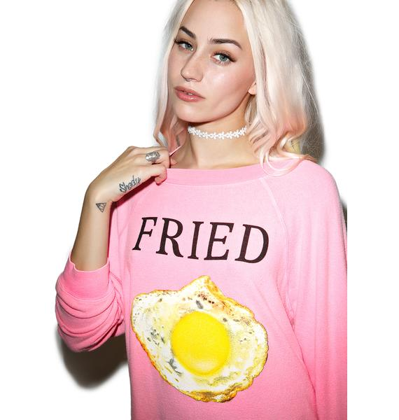 Wildfox Couture Fried Kim's Sweater