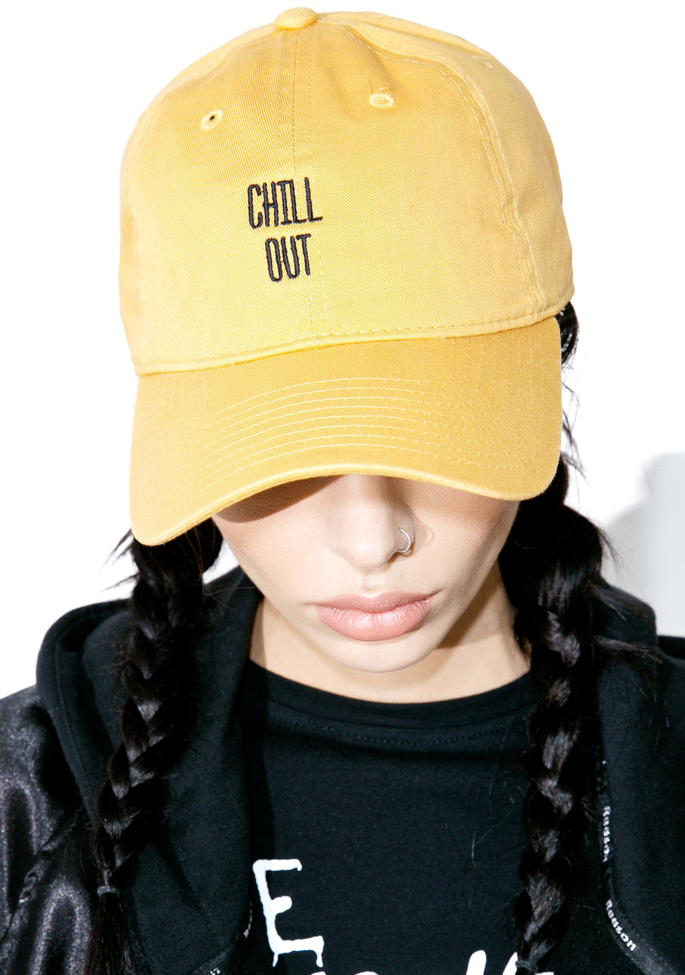 Slushcult Chill Out Dad Hat