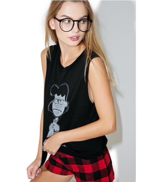 Lucy Nope Muscle Tee