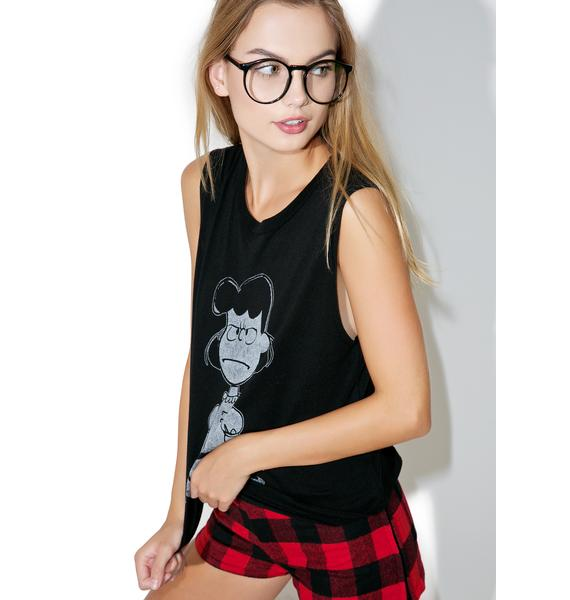 Daydreamer Lucy Nope Muscle Tee