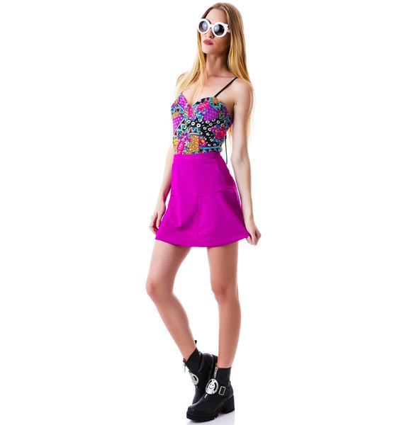 Mink Pink Africana Pop Bodysuit