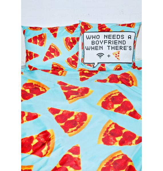 Sugarpills Wifi + Pizza Bedding