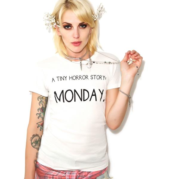 Wildfox Couture Tiny Horror Story Tourist Crewneck Tee