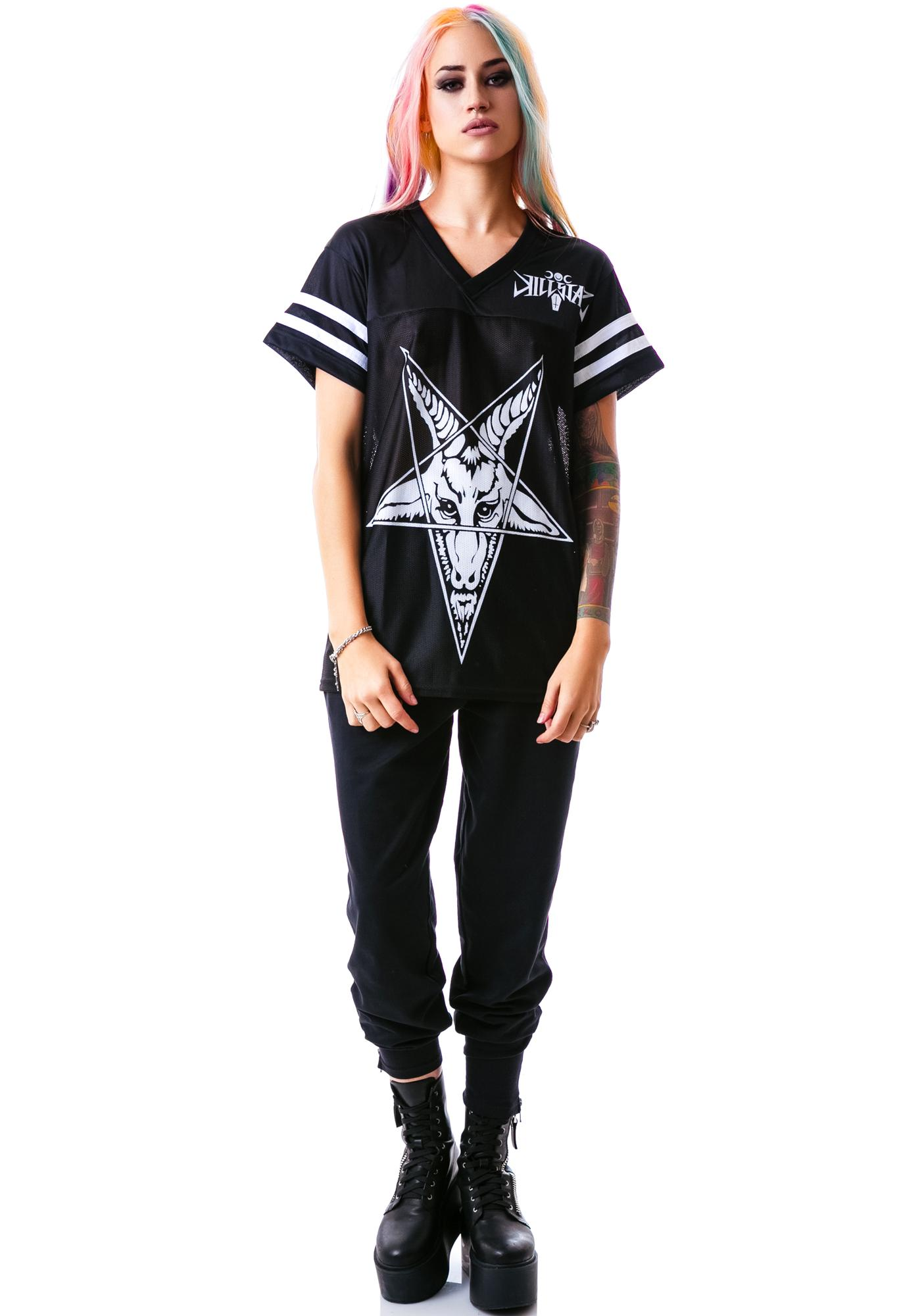 Killstar Mendes Football Top