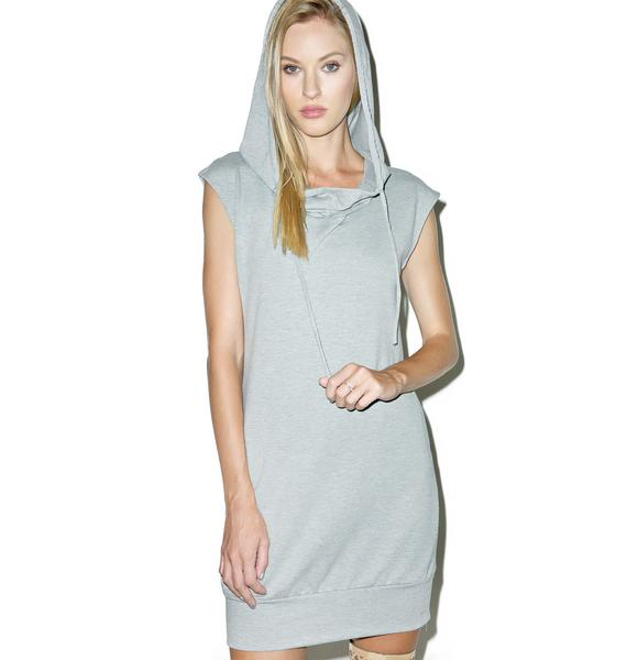 Champ Is Here Hooded Dress