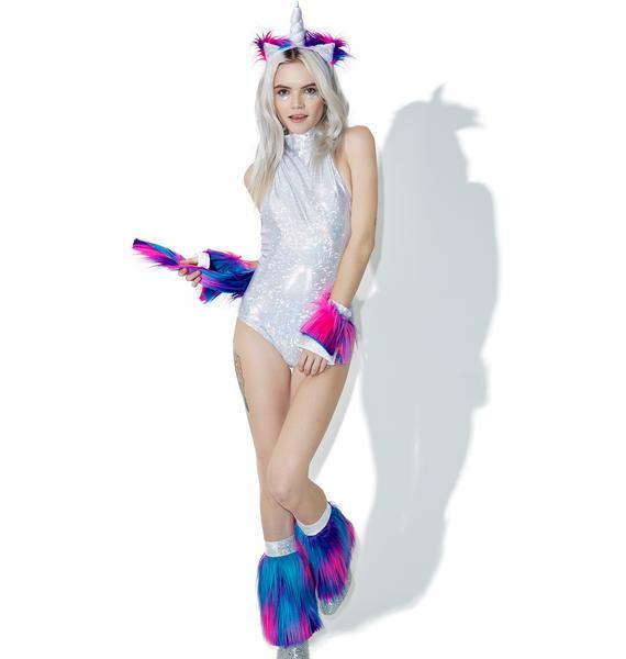 Dolls Kill Magick Unicorn Costume Set