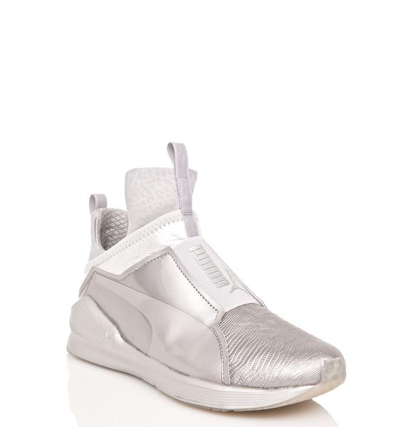 PUMA Fierce Metallic Sneakers